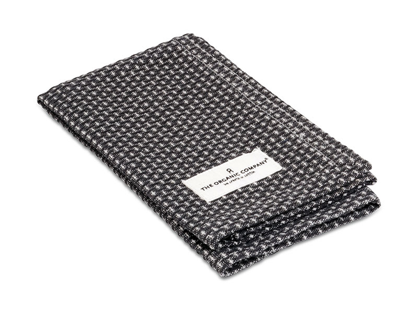 The Organic Co - Kitchen & Wash Cloth - Dark Grey