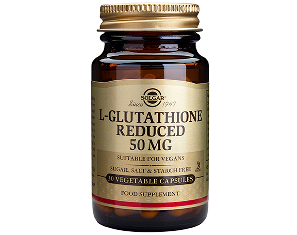 Solgar L-Glutathione Reduced 50 mg VegCaps