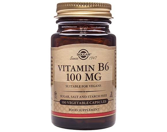 Solgar Vitamin B6 100 mg Vegetable Capsules