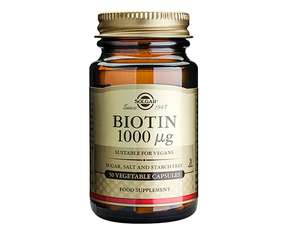 Solgar Biotin 1000 g Vegetable Capsules