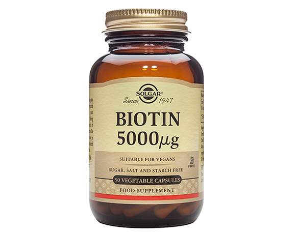 Solgar Biotin 5000 g Vegetable Capsules