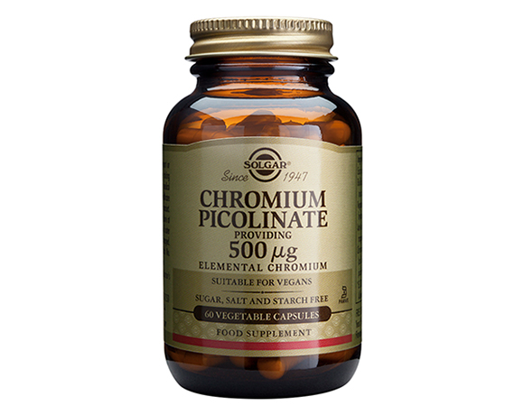 Solgar Chromium Picolinate 500 g Vegetable capsules