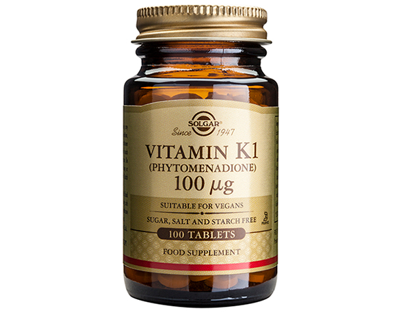 Solgar Vitamin K1 100 g Tablets