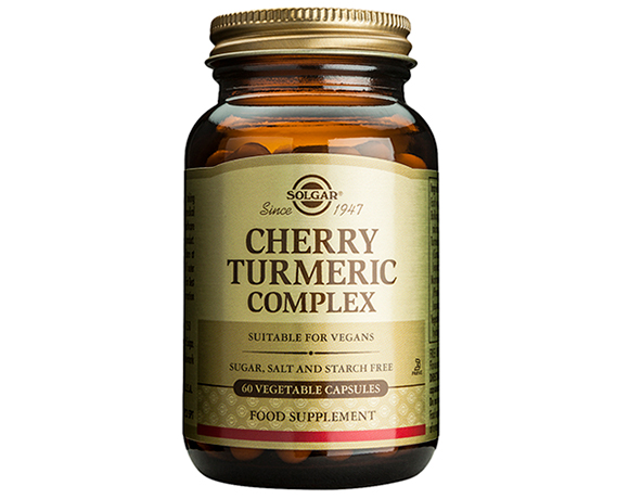 Solgar Cherry Turmeric Complex Vegetable Capsules