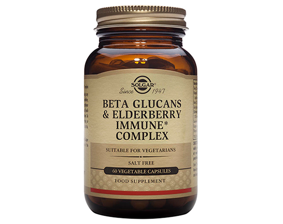 Solgar Beta Glucans Immune Complex Vegetable capsules