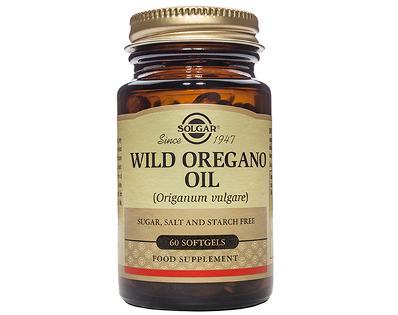 Solgar Wild Oregano Oil Softgels