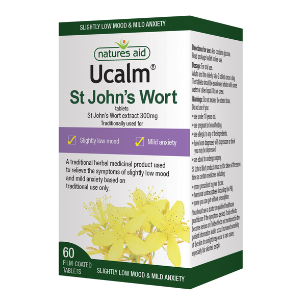 Nature's Aid St Johns Wort UCalm