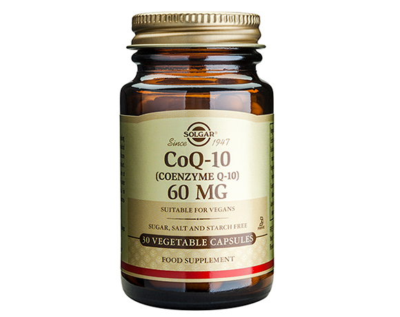 Solgar Coenzyme Q-10 60 mg Vegetable capsules