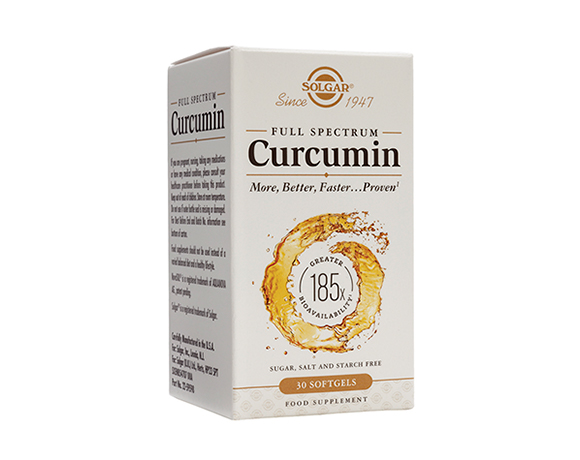 Solgar Full Spectrum Curcumin 185x Softgels