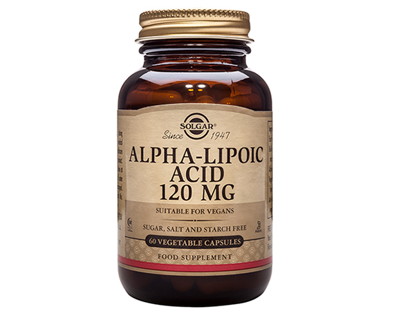 Solgar Alpha Lipoic Acid 120 mg Vegetable capsules