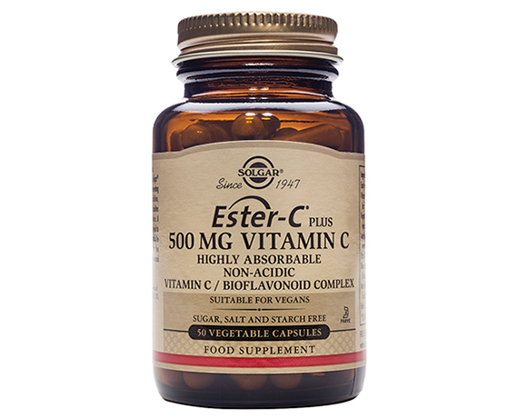 Solgar Ester-C(R) Plus 500 mg Vitamin
