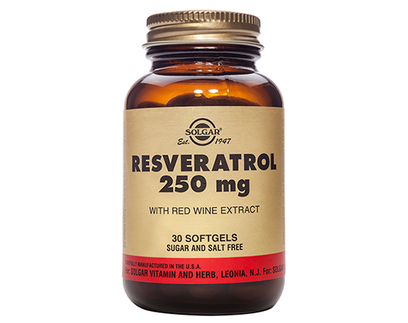 Solgar Resveratrol 250 mg Softgels