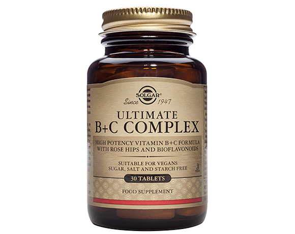 Solgar Ultimate B + C Complex Tablets