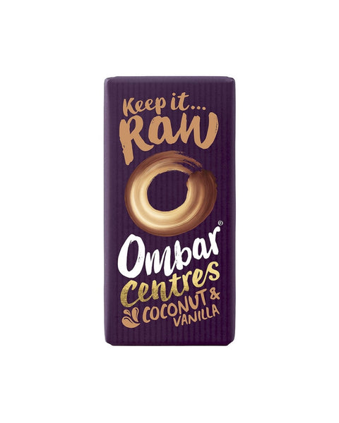 Ombar Coconut & Vanilla Centre Chocolate