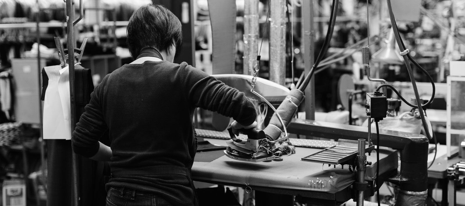 clothing factory people