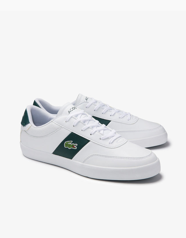 Lacoste White & Green Courtmaster 0120 1 Sneaker