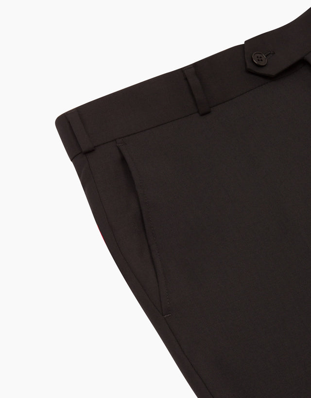 Explorer Black Twill Trouser