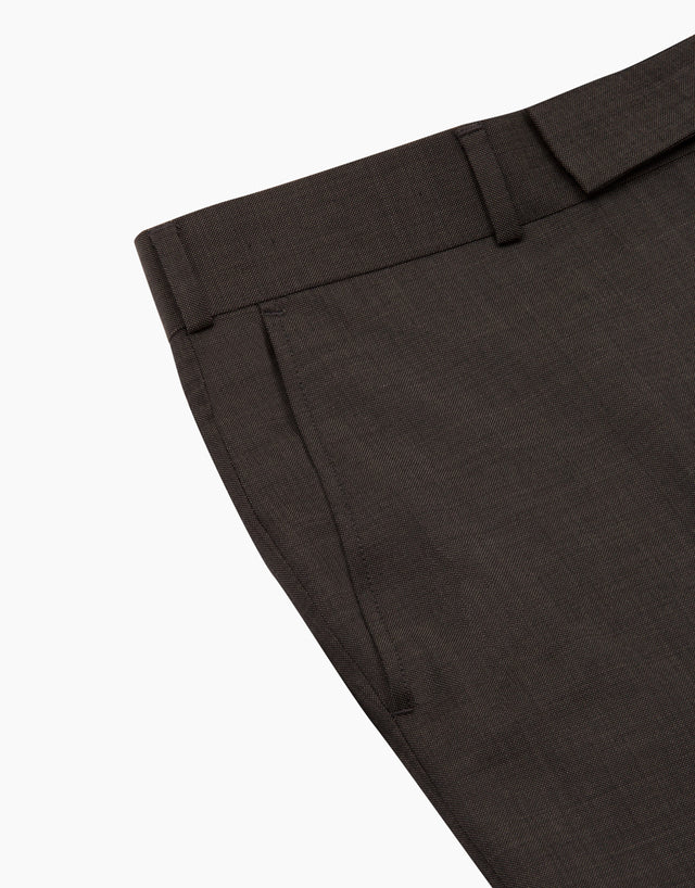 Lotus Charcoal Nailhead Suit Trouser