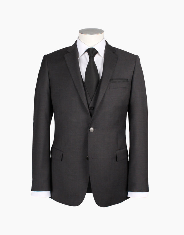 Burton Charcoal Suit Jacket