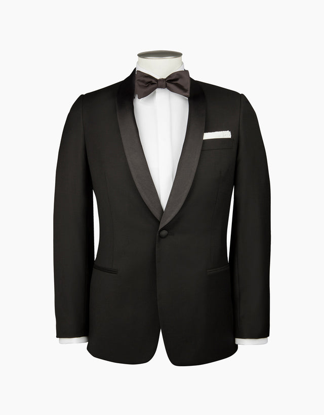 Bryan Black Tuxedo Dinner Jacket