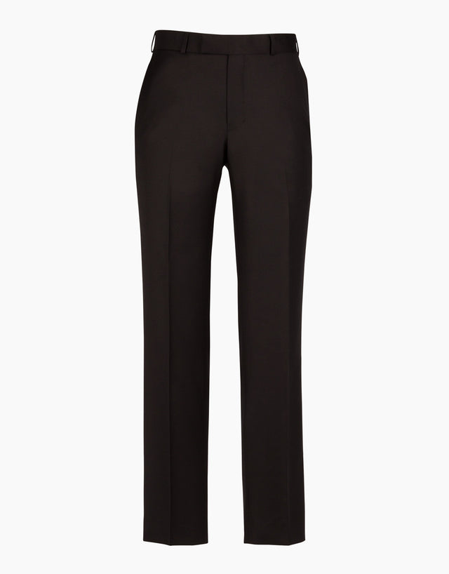 Lotus Black Twill Suit Trouser