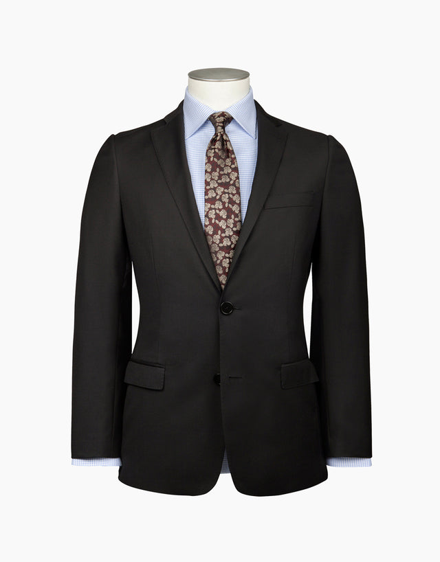 Cumbria Black Twill Suit Jacket