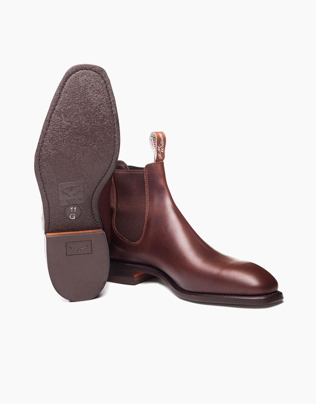 R.M. Williams Chestnut Comfort Craftsman Boot