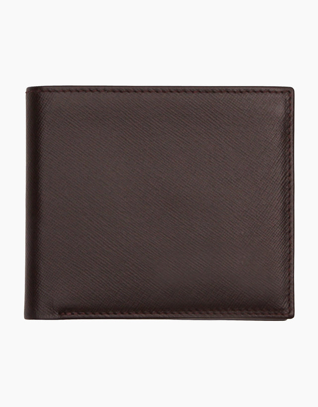 Dark Brown Billfold Wallet