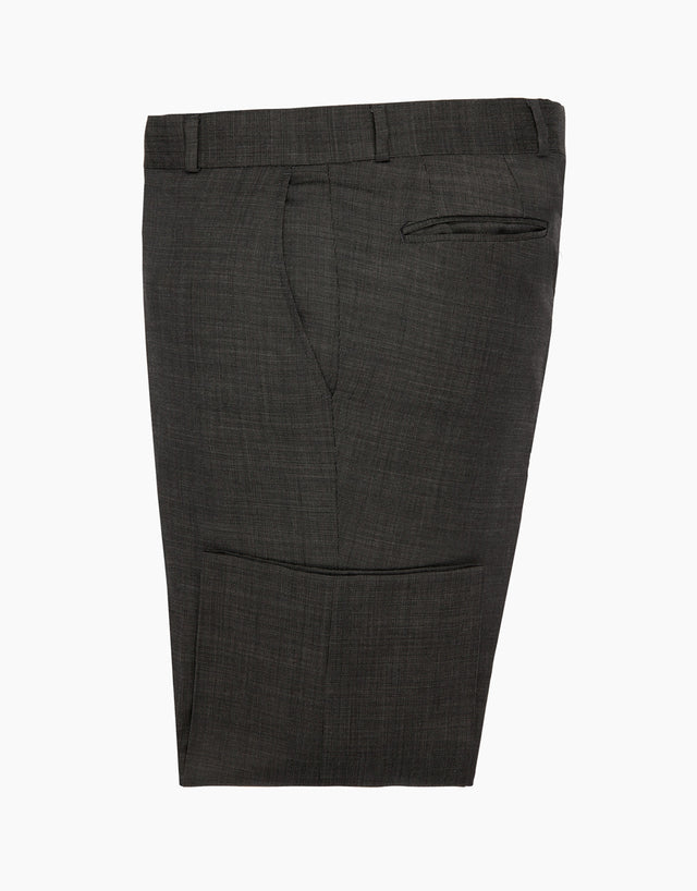 Hollywood Charcoal Pin Dot Suit Trouser