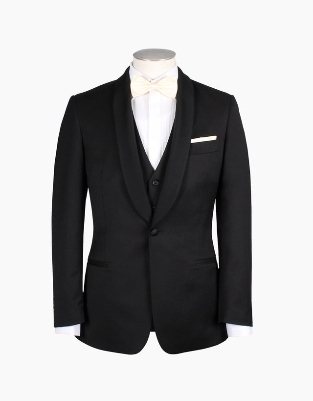 Bogart Black Dinner Suit Jacket