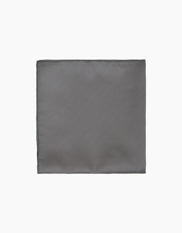 Grey Texture Pocket Square