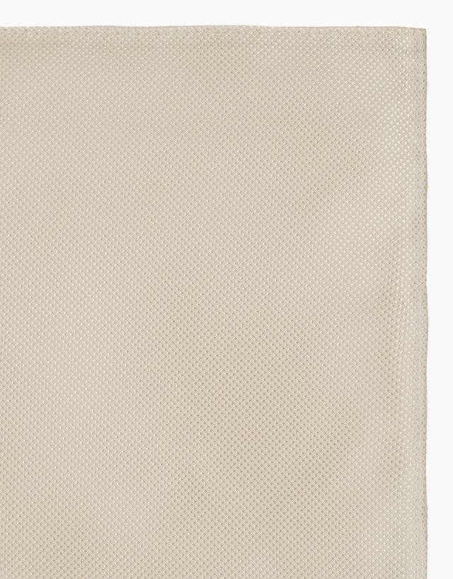 Cream Texture Pocket Square