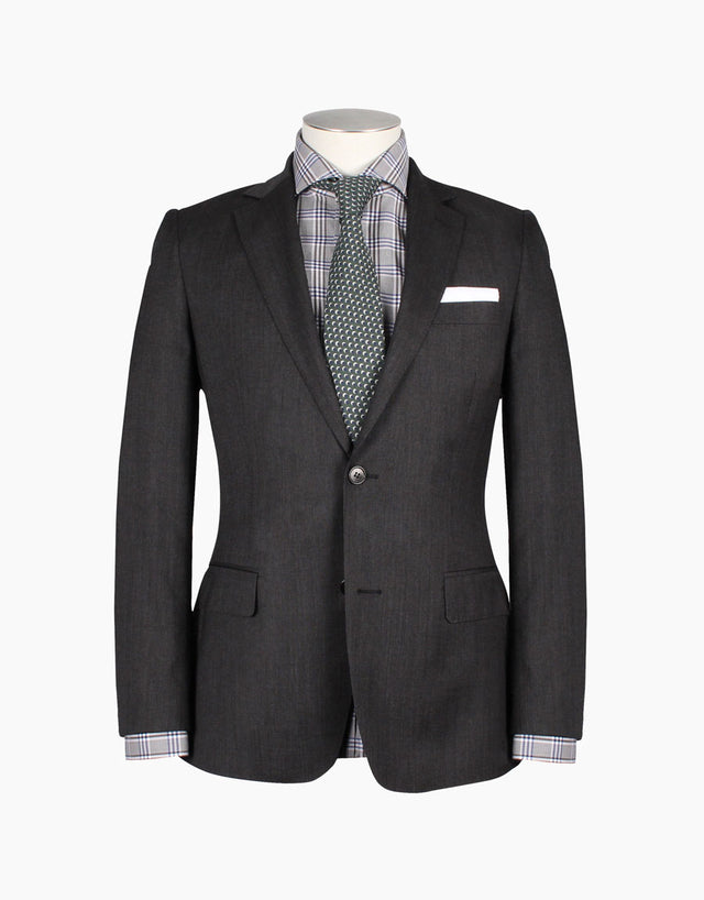 Lewis charcoal two piece suit