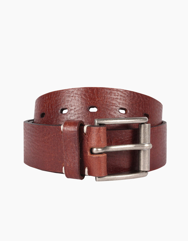 Lex Brown Leather Belt