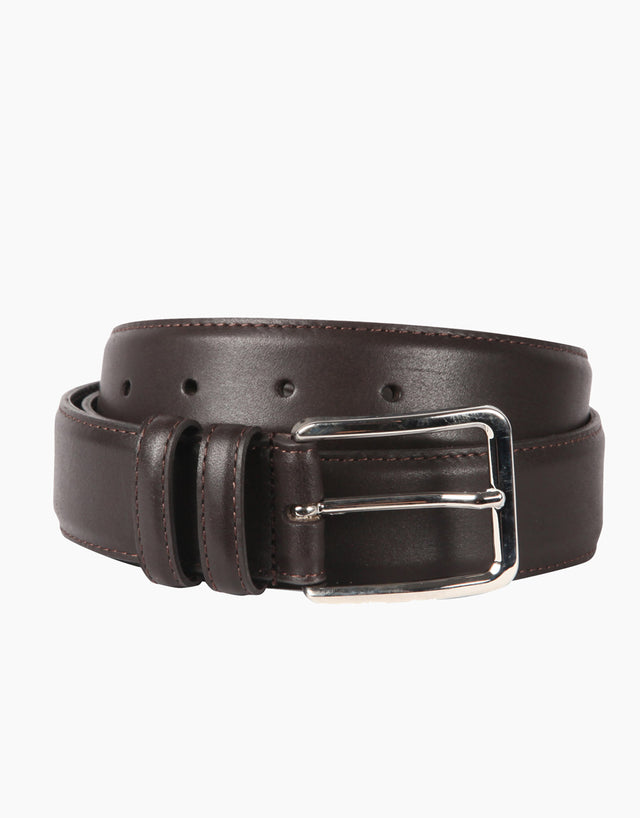Italian Calabria Dark Brown Belt