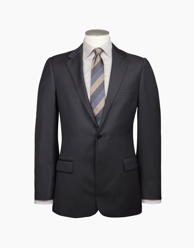 Cumbria Navy Stripe Suit