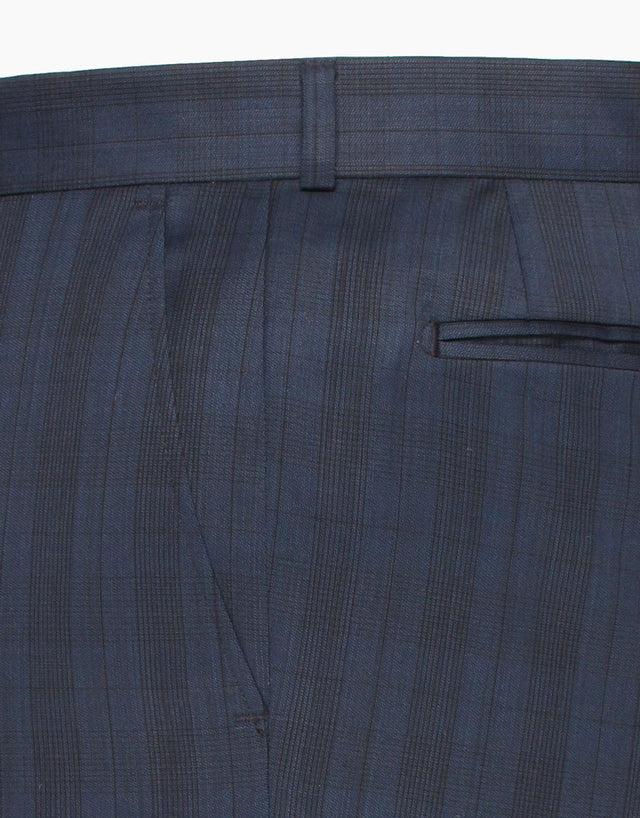 Astor Blue Check Trouser