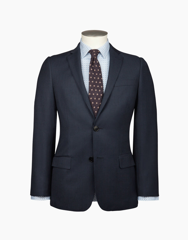 Cumbria Navy Birdseye Suit Jacket
