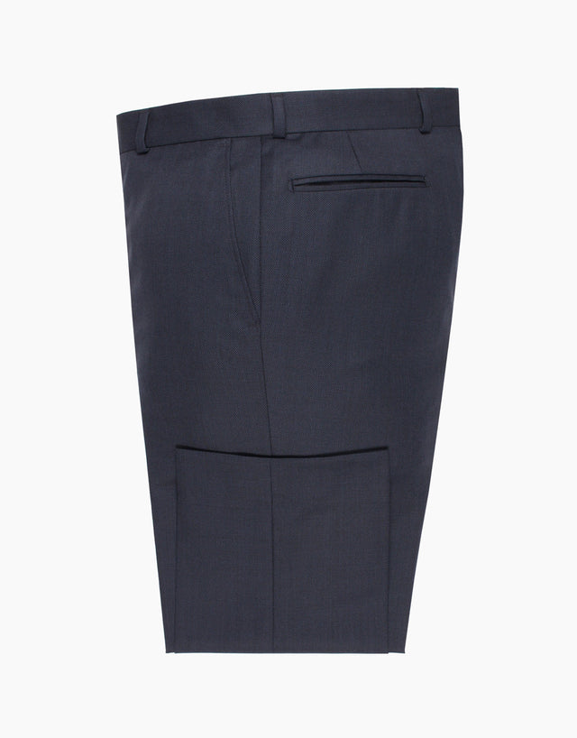 Hollywood Navy Birdseye Suit Trouser