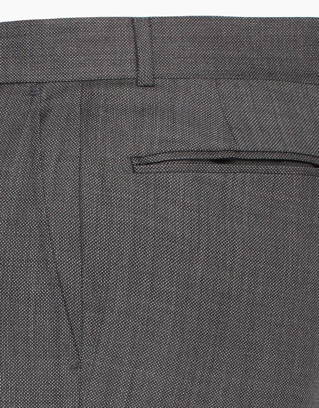 Lotus Grey Birdseye Trouser