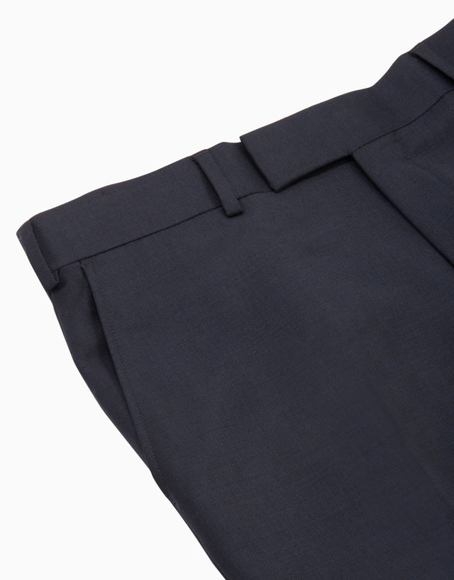 Lotus Navy Suit Trouser