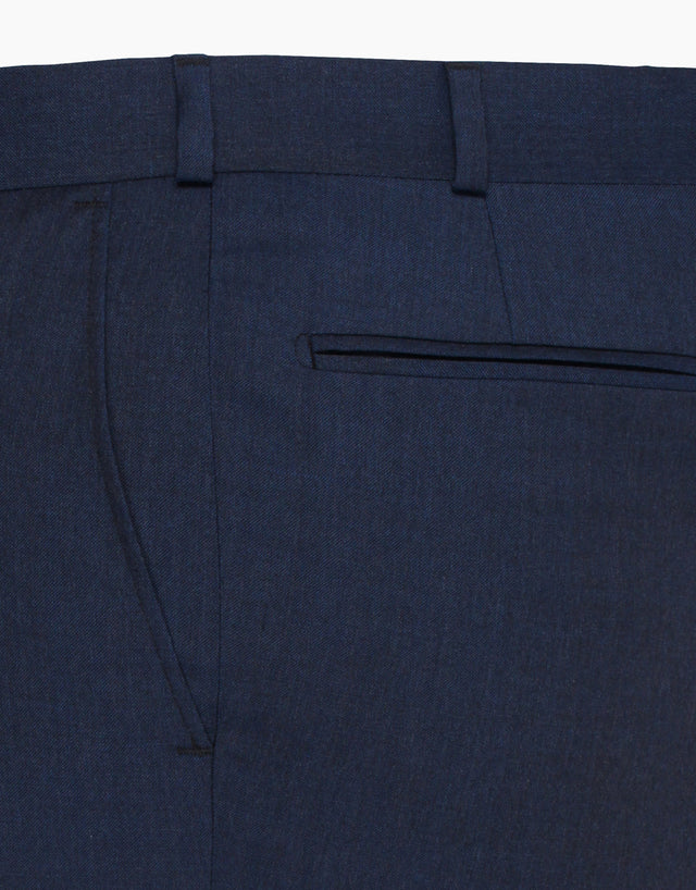 Lotus Navy Twill Trouser
