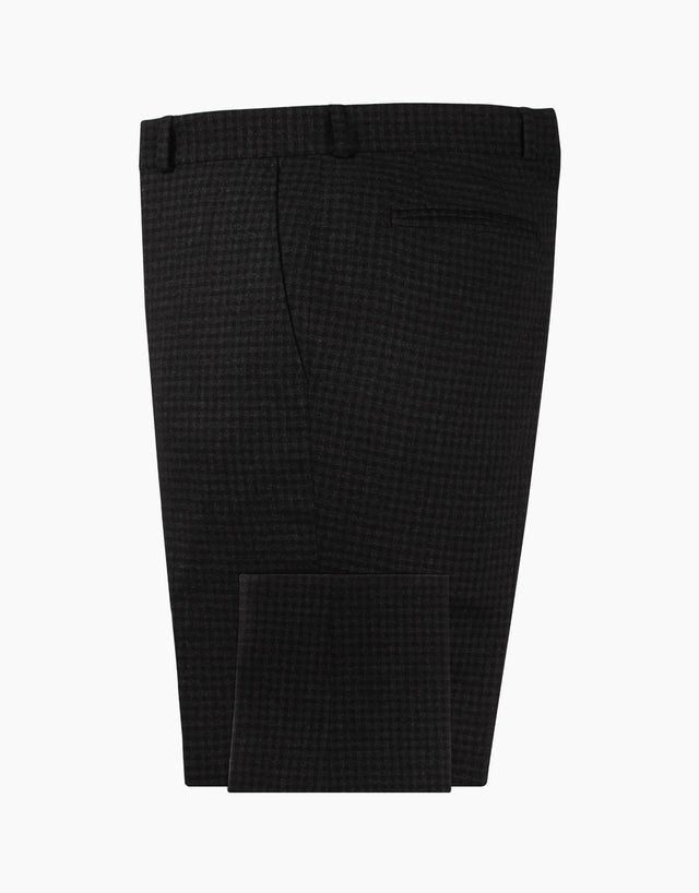 Astor Black Check Suit Trouser
