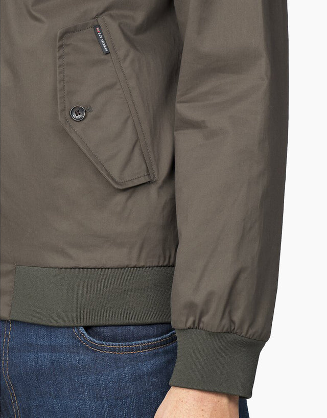 Ben Sherman Dark Green Harrington Jacket
