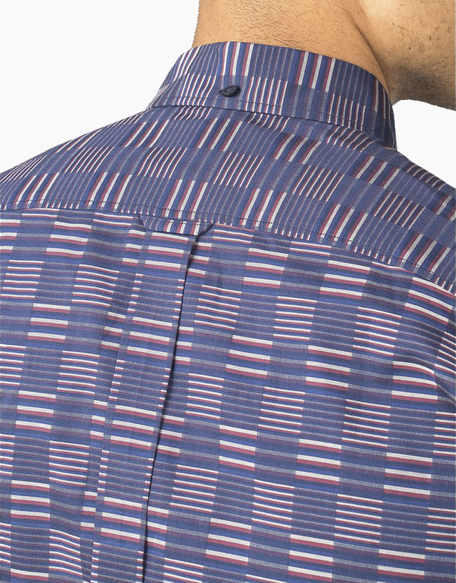 Ben Sherman Ivy Stripe Check Shirt