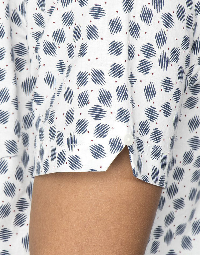 Ben Sherman Scattered Scratch Geo Shirt