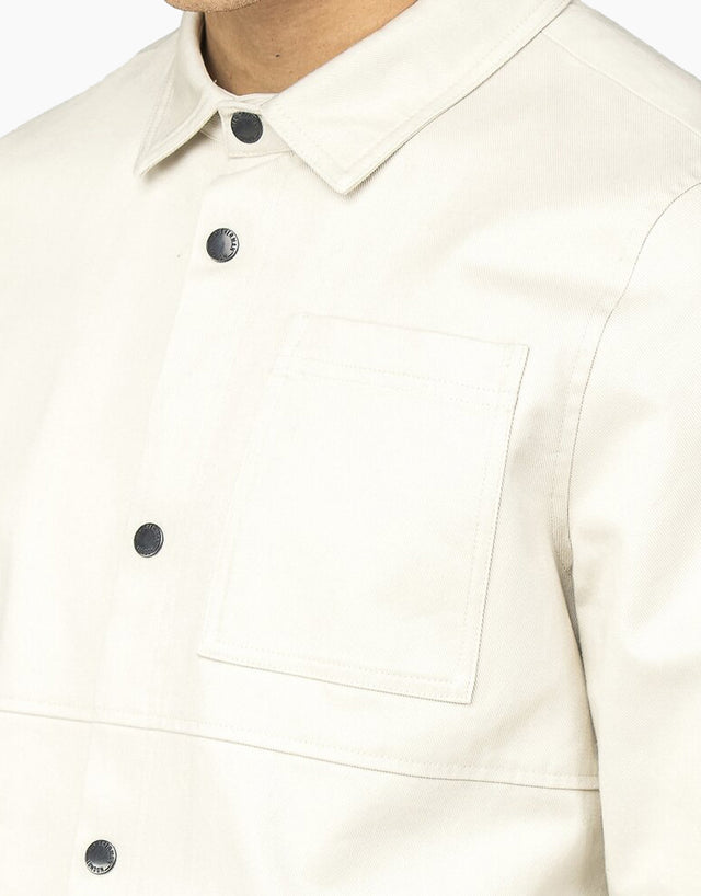 Ben Sherman Ecru Overshirt Jacket