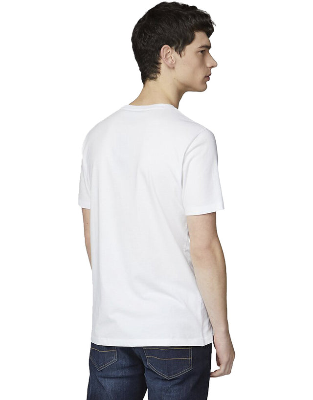 Ben Sherman White Abstract Target T-Shirt
