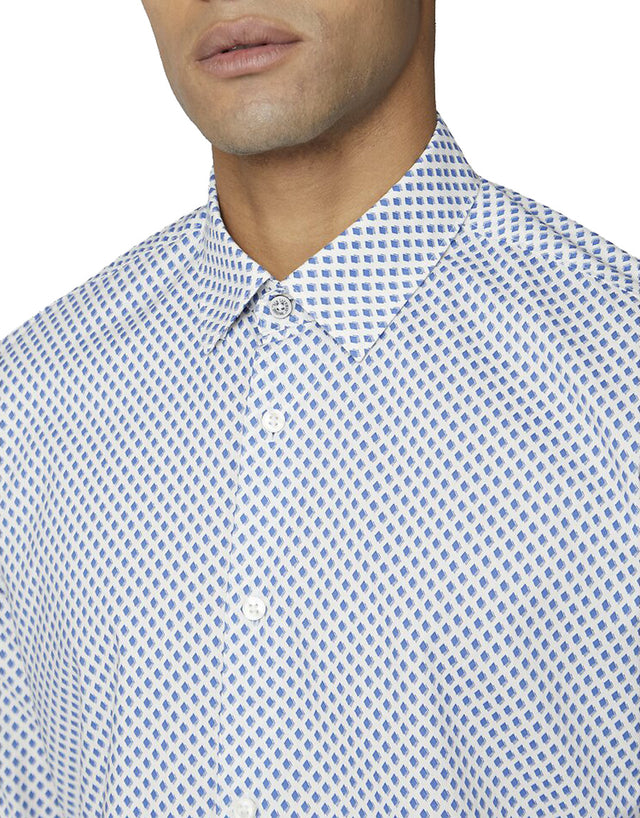 Ben Sherman Blue One Print Shirt