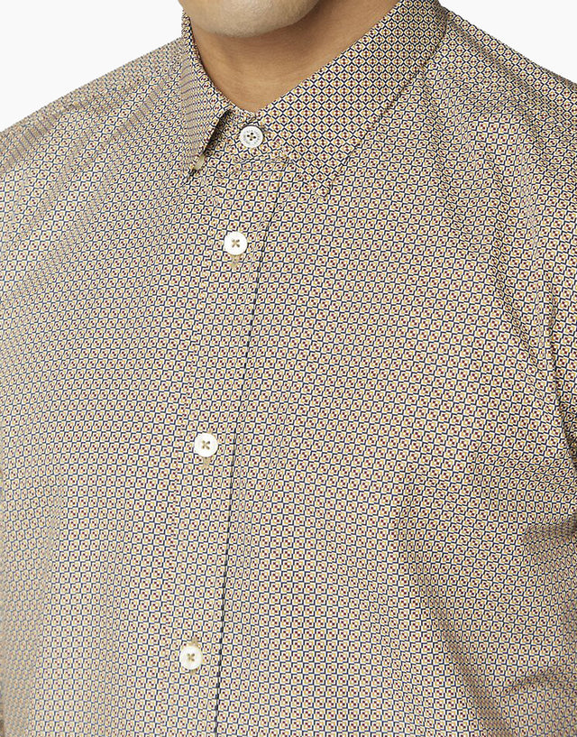 Ben Sherman Dijon Scattered Print Shirt